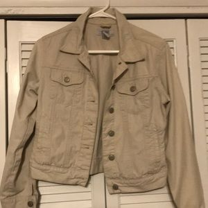 "💝Women's Small ""OLD NAVY"" Khaki Jacket EXCELLENT"